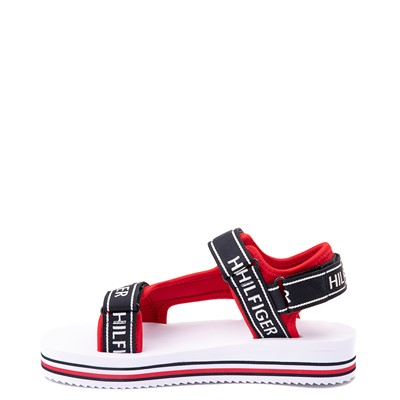 Alternate view of Womens Tommy Hilfiger Nurii Platform Sandal - Red