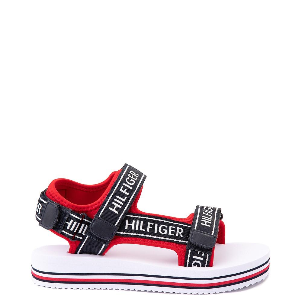 Womens Tommy Hilfiger Nurii Platform Sandal - Red