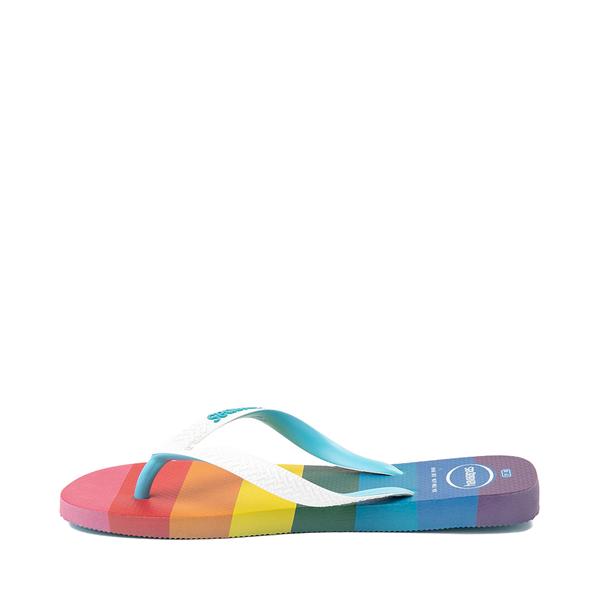 alternate view Womens Havaianas Top Pride Sandal - RainbowALT1B