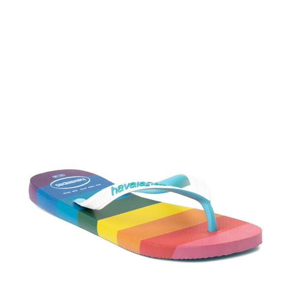 alternate view Womens Havaianas Top Pride Sandal - RainbowALT5