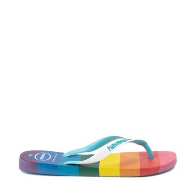 Alternate view of Womens Havaianas Top Pride Sandal - Rainbow