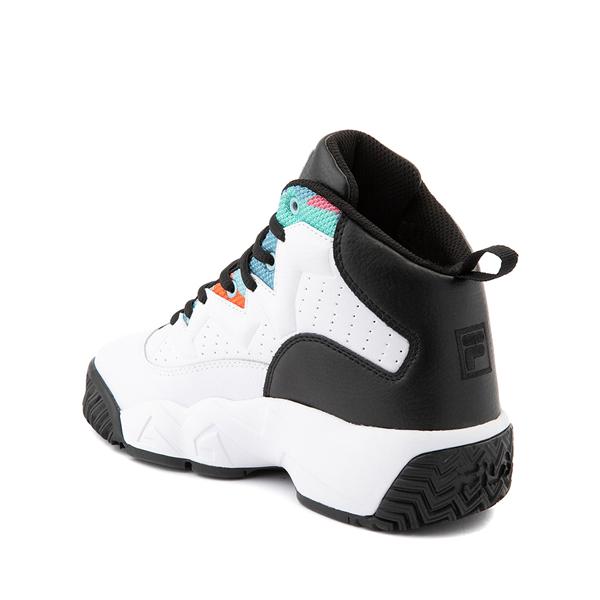alternate view Mens Fila MB '90s Athletic Shoe - White / MulticolorALT1