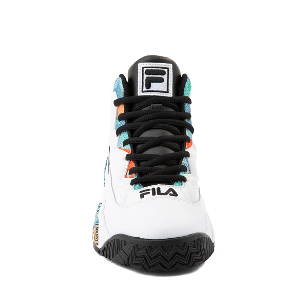 alternate view Mens Fila MB '90s Athletic Shoe - White / MulticolorALT4