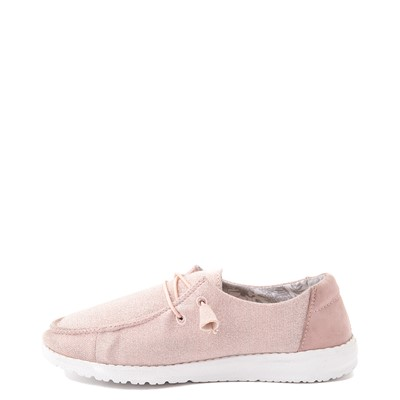 Alternate view of Womens Hey Dude Wendy Slip On Casual Shoe - Sparkling Pink