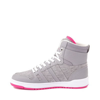 Alternate view of Womens Levi's 521 BB Hi Casual Shoe - Gray / Pink