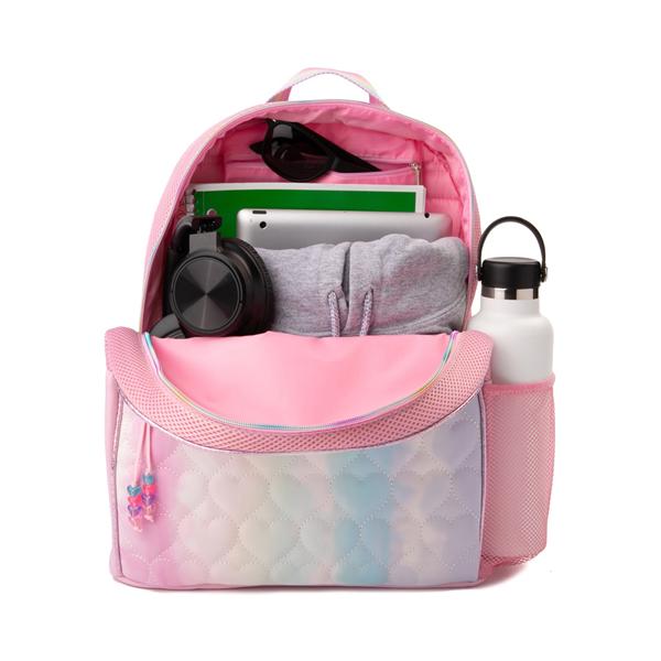 alternate view Love Tie Dye Backpack - Pink / MulticolorALT1