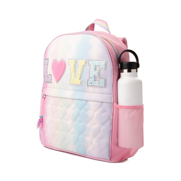 alternate view Love Tie Dye Backpack - Pink / MulticolorALT4