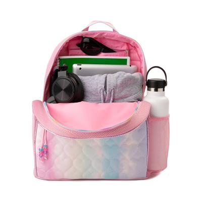 Alternate view of Love Tie Dye Backpack - Pink / Multicolor