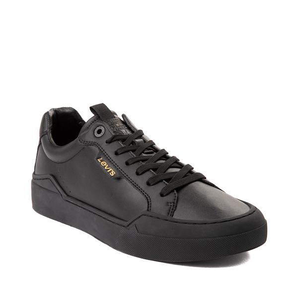 alternate view Mens Levi's 521 XX Lo Casual Shoe - Black MonochromeALT5