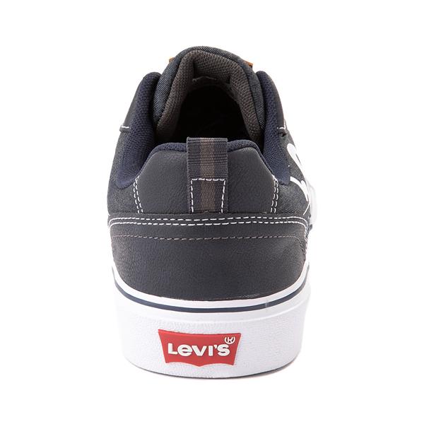 alternate view Mens Levi's 501® Lance Casual Shoe - NavyALT4
