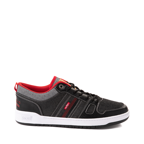 Main view of Mens Levi's 520 BB Lo Chambray Casual Shoe - Black