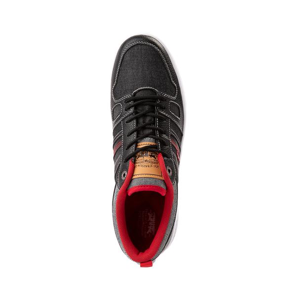 alternate view Mens Levi's 520 BB Lo Chambray Casual Shoe - BlackALT2