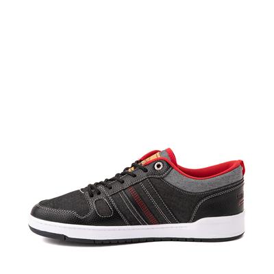 Alternate view of Mens Levi's 520 BB Lo Chambray Casual Shoe - Black