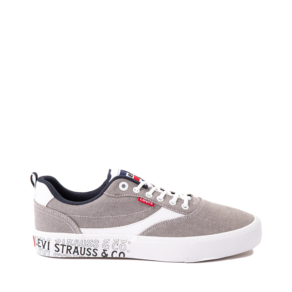 Main view of Mens Levi's Lance Casual Shoe - Gray