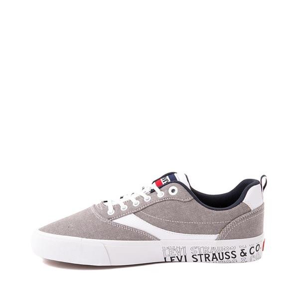 alternate view Mens Levi's Lance Casual Shoe - GrayALT1