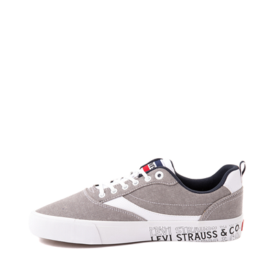 Alternate view of Mens Levi's Lance Casual Shoe - Gray