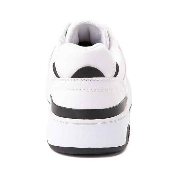 alternate view Mens Levi's 521 Mod Lo Athletic Shoe - WhiteALT4