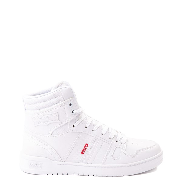 Main view of Womens Levi's 521 BB Hi Casual Shoe - White