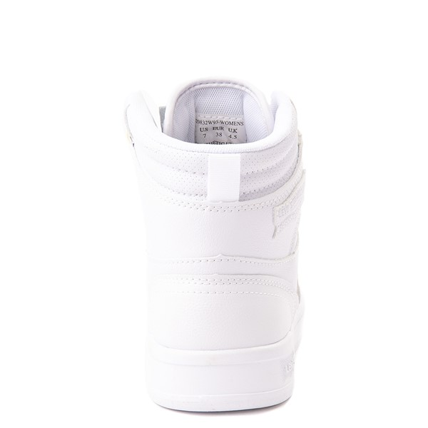 alternate view Womens Levi's 521 BB Hi Casual Shoe - WhiteALT4