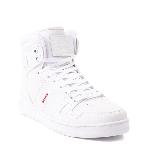 alternate view Womens Levi's 521 BB Hi Casual Shoe - WhiteALT5