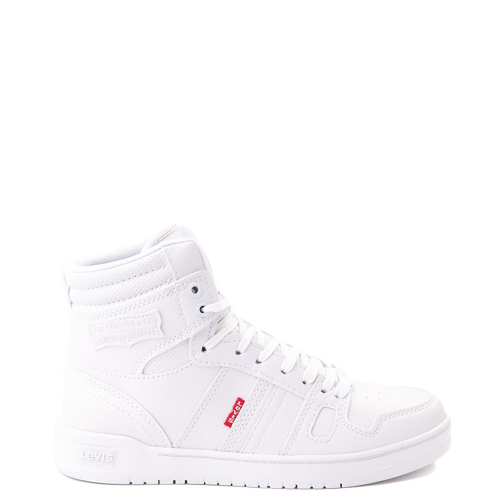 Womens Levi's 521 BB Hi Casual Shoe - White