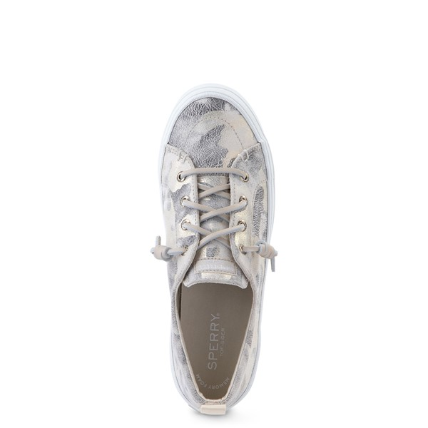 alternate view Womens Sperry Top-Sider Crest Vibe Casual Shoe - Ivory CamoALT2