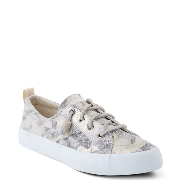 alternate view Womens Sperry Top-Sider Crest Vibe Casual Shoe - Ivory CamoALT5