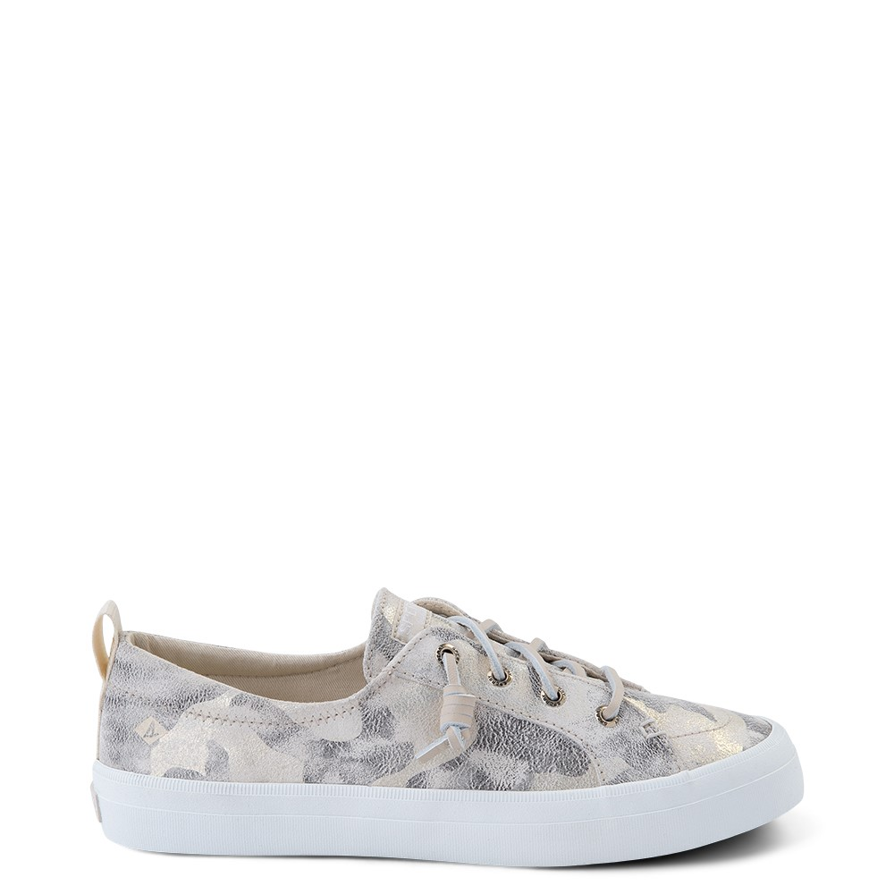 Womens Sperry Top-Sider Crest Vibe Casual Shoe - Ivory Camo