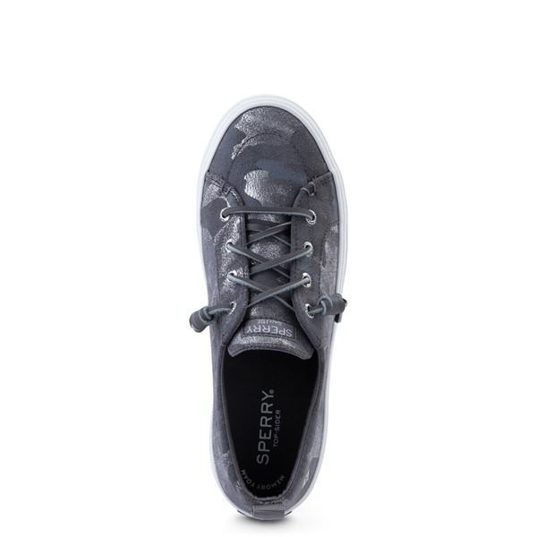 alternate view Womens Sperry Top-Sider Crest Vibe Casual Shoe - Silver CamoALT2