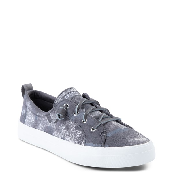 alternate view Womens Sperry Top-Sider Crest Vibe Casual Shoe - Silver CamoALT5