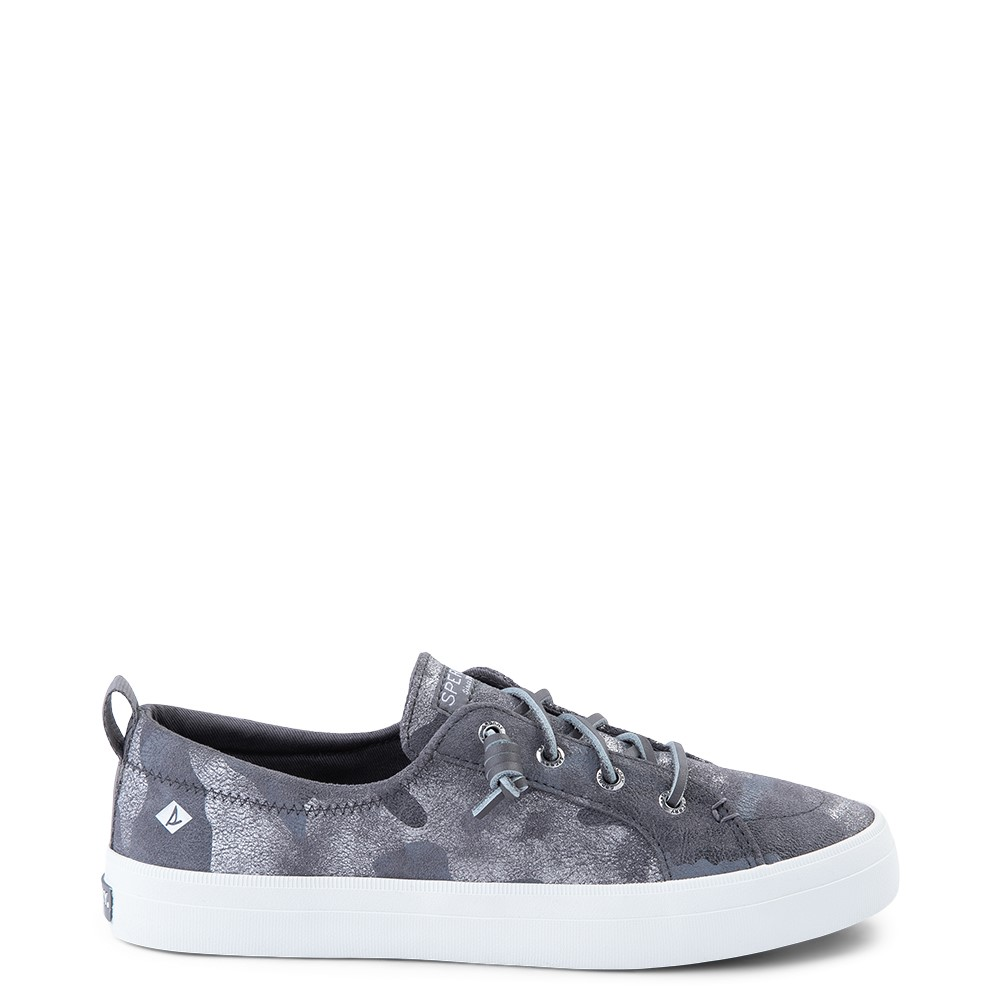 Womens Sperry Top-Sider Crest Vibe Casual Shoe - Silver Camo