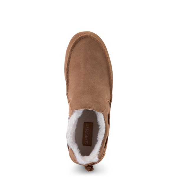 alternate view Womens Sperry Top-Sider Moc-Sider Slip On Casual Shoe - TanALT2