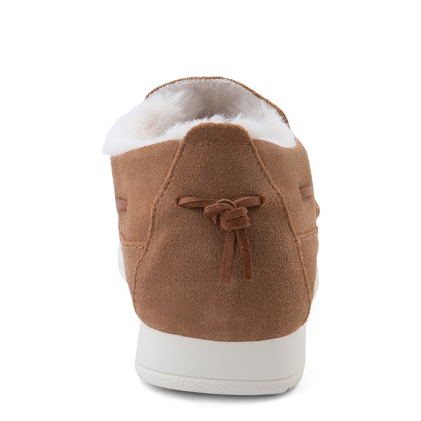alternate view Womens Sperry Top-Sider Moc-Sider Slip On Casual Shoe - TanALT4