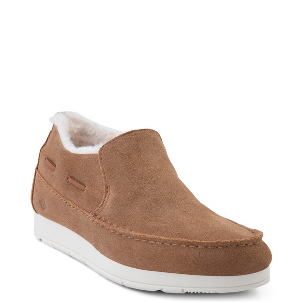 alternate view Womens Sperry Top-Sider Moc-Sider Slip On Casual Shoe - TanALT5
