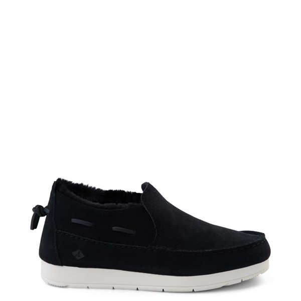 Main view of Womens Sperry Top-Sider Moc-Sider Slip On Casual Shoe - Black