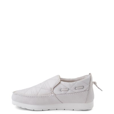 Alternate view of Womens Sperry Top-Sider Moc-Sider Slip On Casual Shoe - Ivory