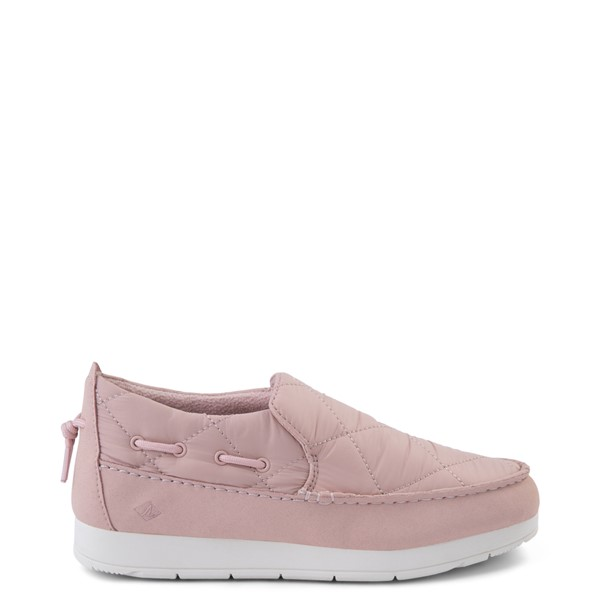 Main view of Womens Sperry Top-Sider Moc-Sider Slip On Casual Shoe - Pink