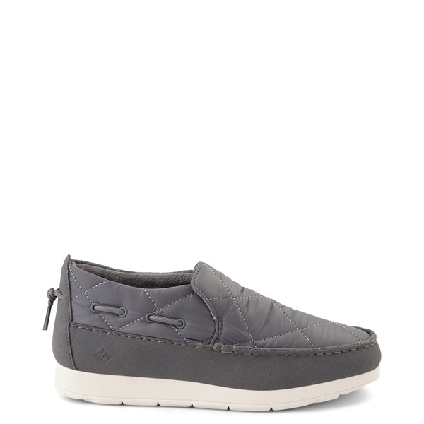 Main view of Womens Sperry Top-Sider Moc-Sider Slip On Casual Shoe - Gray