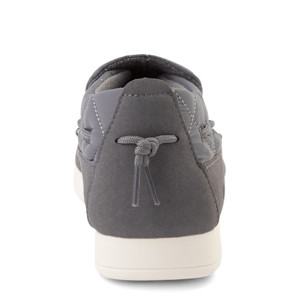 alternate view Womens Sperry Top-Sider Moc-Sider Slip On Casual Shoe - GrayALT4
