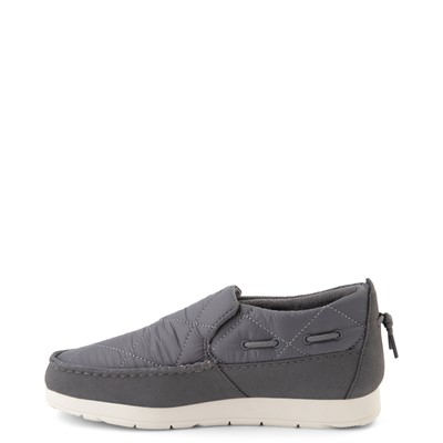 Alternate view of Womens Sperry Top-Sider Moc-Sider Slip On Casual Shoe - Gray