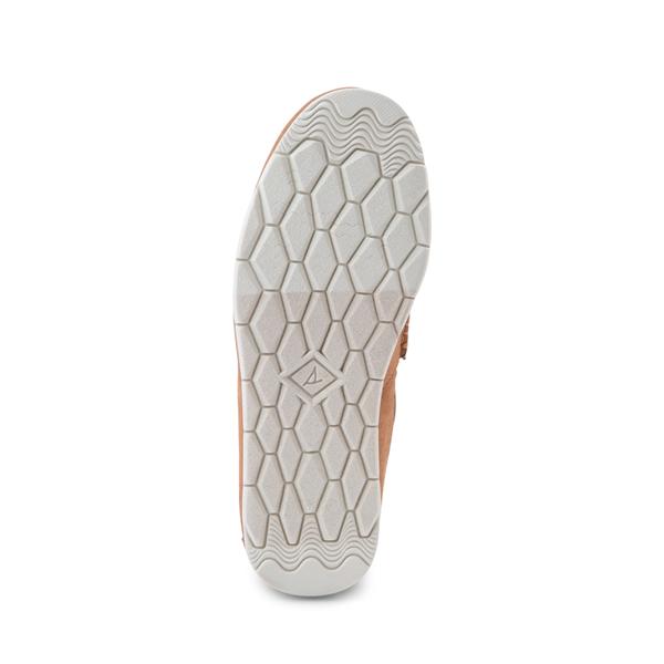 alternate view Womens Sperry Top-Sider Moc-Sider Slip On Casual Shoe - LeopardALT3