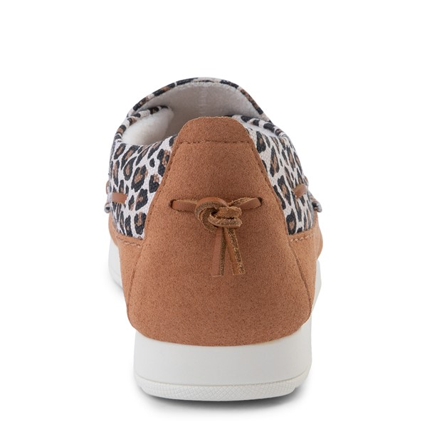 alternate view Womens Sperry Top-Sider Moc-Sider Slip On Casual Shoe - LeopardALT4