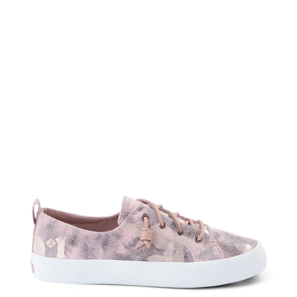 Womens Sperry Top-Sider Crest Vibe Casual Shoe - Pink Camo