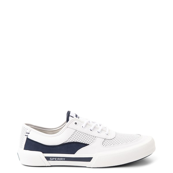 Main view of Mens Sperry Top-Sider Soletide Sneaker - White / Navy