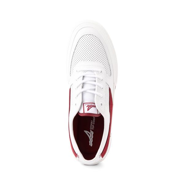 alternate view Mens Sperry Top-Sider Soletide Sneaker - White / RedALT2
