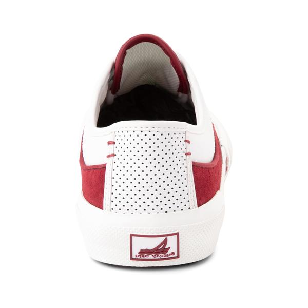 alternate view Mens Sperry Top-Sider Soletide Sneaker - White / RedALT4