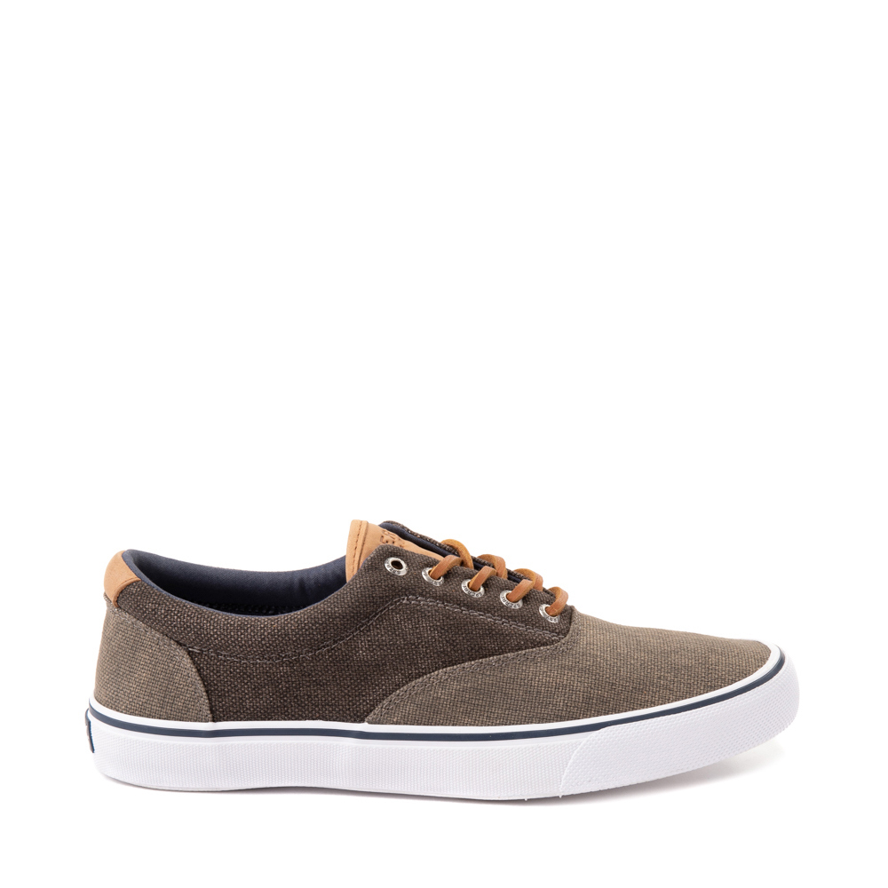 Mens Sperry Top-Sider Striper II Casual Shoe - Olive