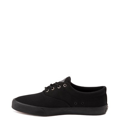 Alternate view of Mens Sperry Top-Sider Striper II SeaCycled Casual Shoe - Black Monochrome