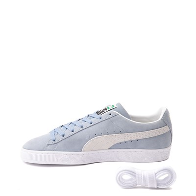 Alternate view of Mens Puma Suede Athletic Shoe - Forever Blue