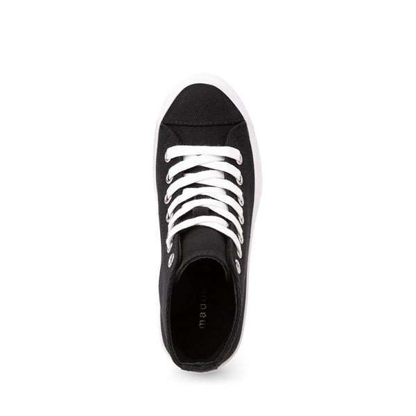 alternate view Steve Madden Shadow Lugged Sneaker - Little Kid / Big Kid - BlackALT2
